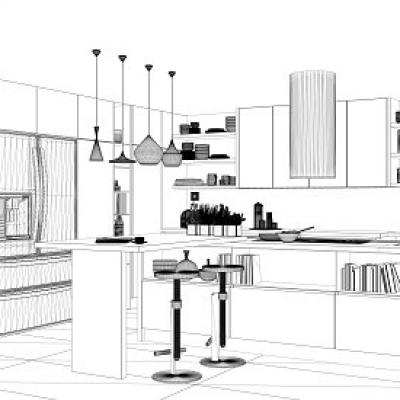 Visita técnica diseño y presupuesto remodelación de cocina